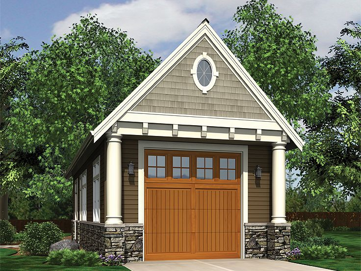 Diy single car garage workshop plans plans free for Single car garage plans