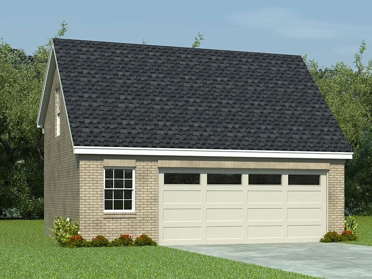 Garage Plan with Loft, 006G-0063