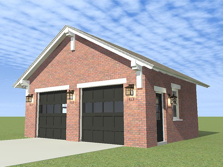 Two-Car Garage, 052G-0010