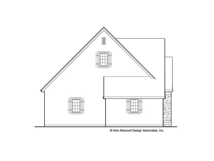 Tandem garage plans four car tandem garage plan 034g for Tandem garage house plans